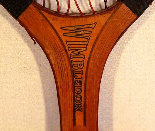 1910's Thomas E. Wilson 'Wimbledon' Model Tennis Racket