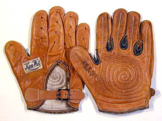 Patented 1926 Ken-Wel Handball Gloves