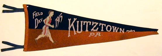 1915 Track and Field Day Pennant from Kutztown PA