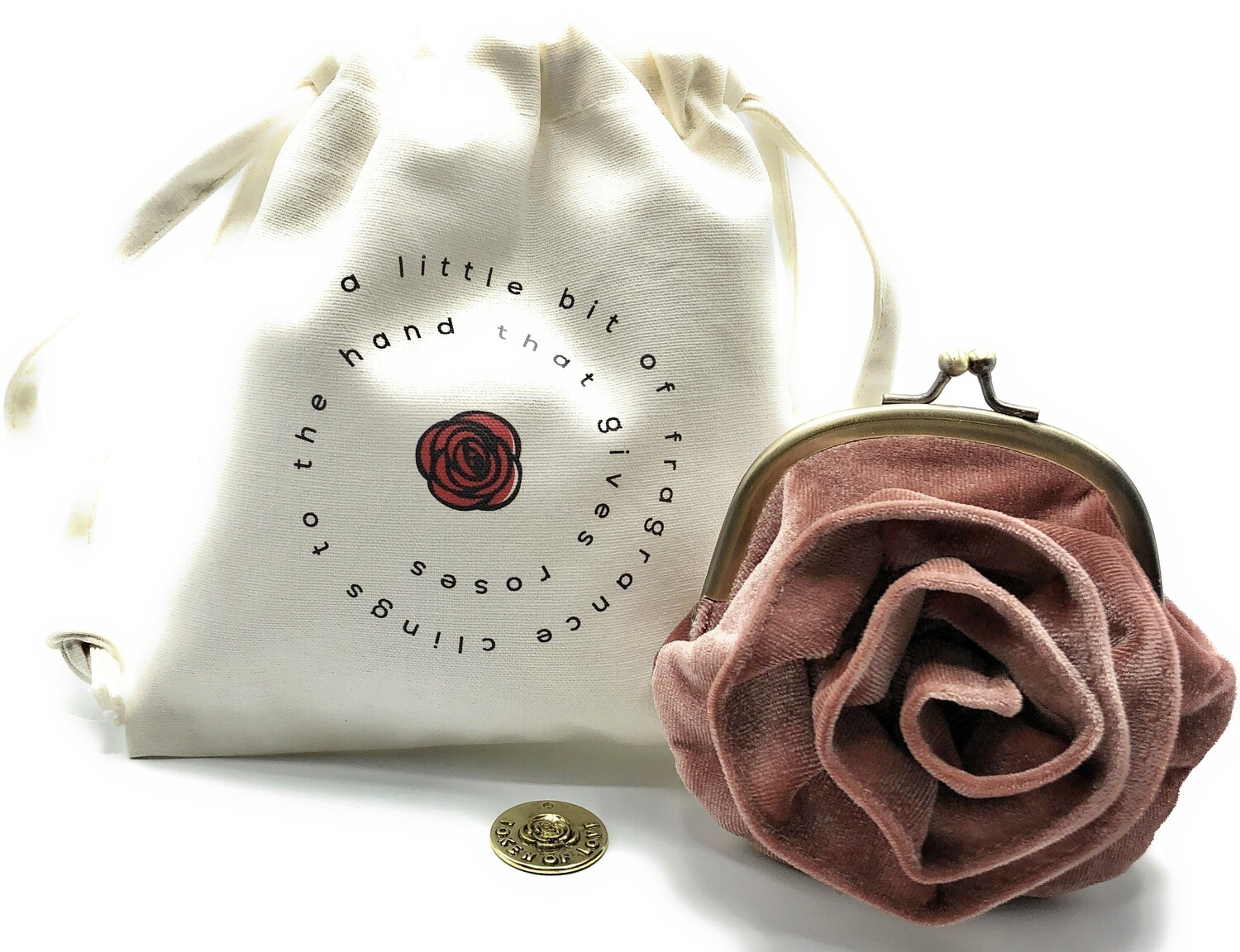 the little rose, dusty pink