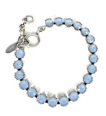 La Vie Parisienne TENNIS BRACELET Silver With Air-Blue Swarovski Crysal