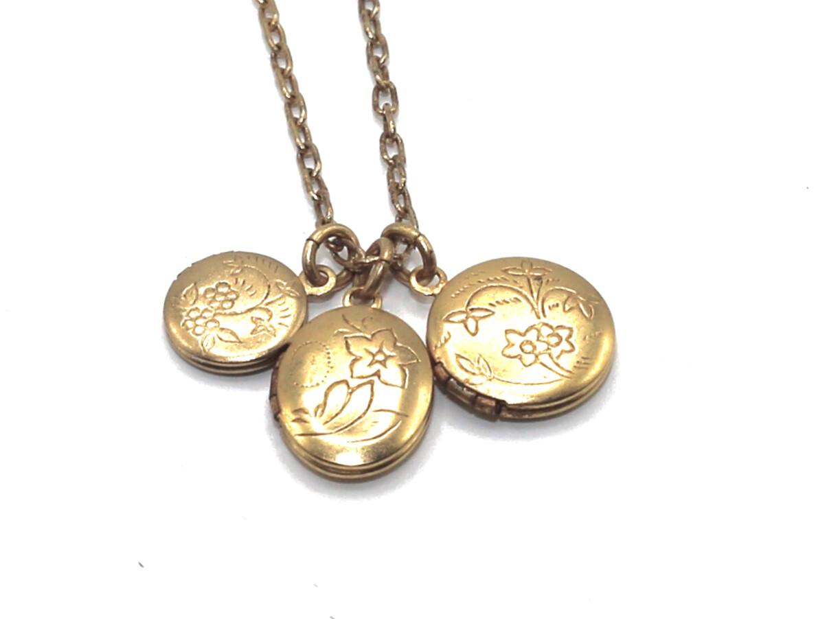 La Vie Parisienne PETITE Gold LOCKETS Charms