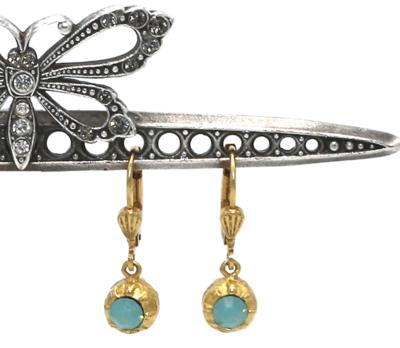 La Vie Parisienne PETITE FERRERO ROCHER Gold  With Pacific Opal Swarovski Crystal