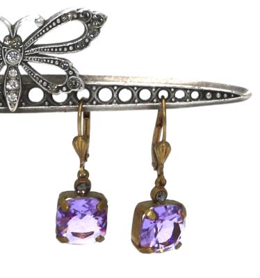 La Vie Parisienne OPRAH Gold With Lavender Swarovski Crystal