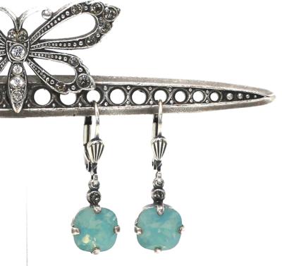 La Vie Parisienne JELLY TOTS Silver With Pacific Opal Swarovski Crystal