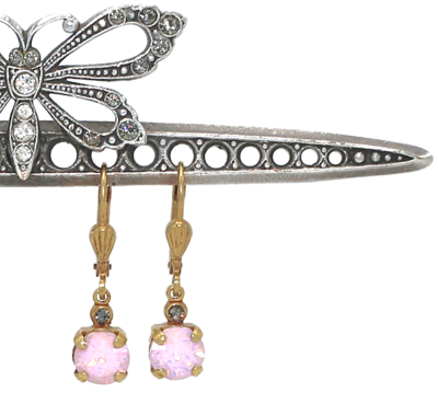La Vie Parisienne LITTLE JELLY TOTS Gold With  Rose-Water Swarovski Crystal