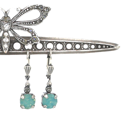 La Vie Parisienne LITTLE JELLY TOTS Silver With  Pacific Opal Swarovski Crystal