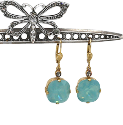 THE DUTCHESS Gold with Pacific Opal Swarovski Crystal