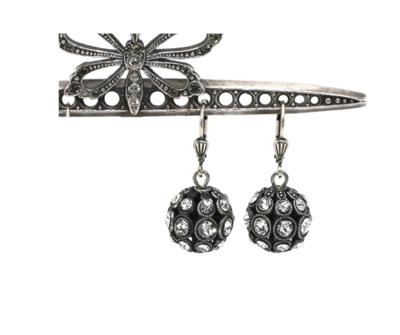 La Vie Parisienne CROWN JEWELS Silver With Clear Swarovski Crystal