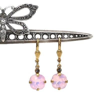 La Vie Parisienne JELLY TOTS Gold With Rose-Water Swarovski Crystal