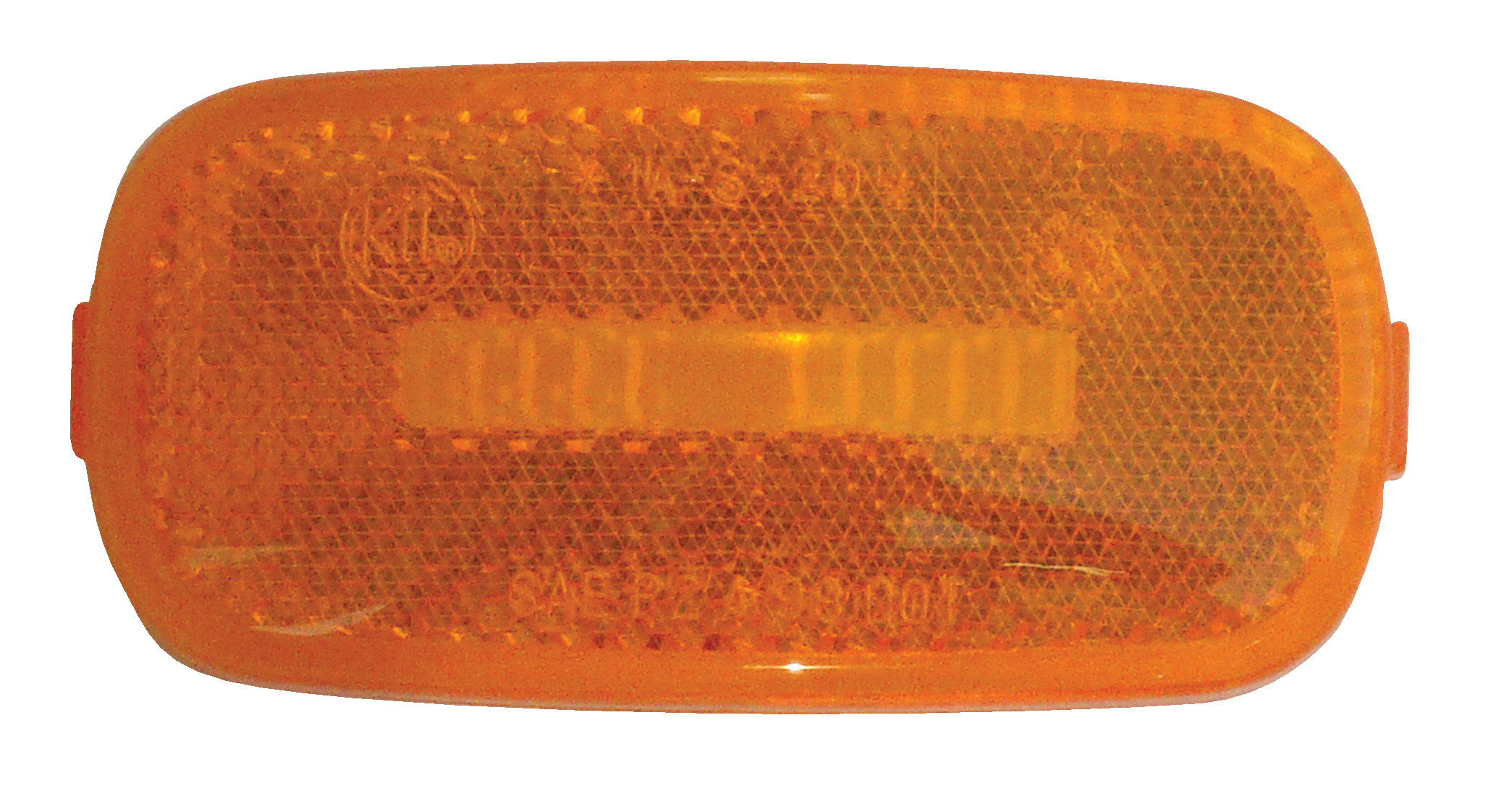 "Amber Replacement Lens for Standard 4"" x 2"" Marker Lights 52716"