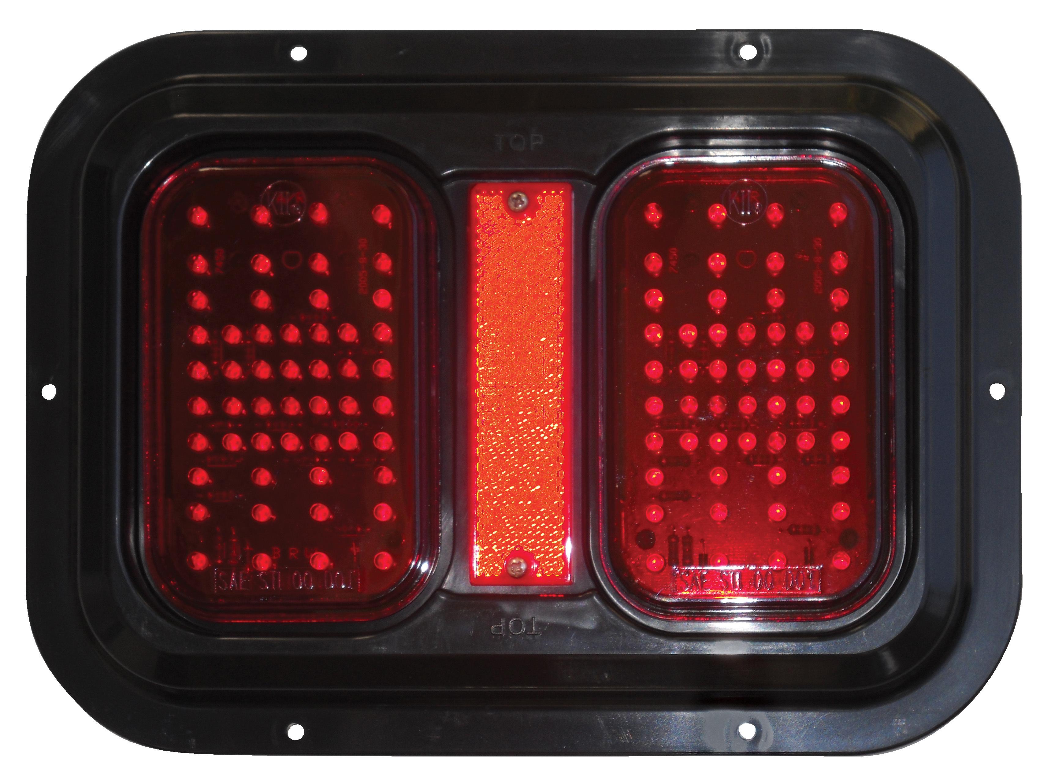 Weatherproof LED Tail Lamp, Turn Signal, and Brake Light 52720