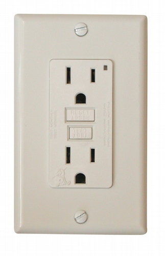 GFI Receptacle - White