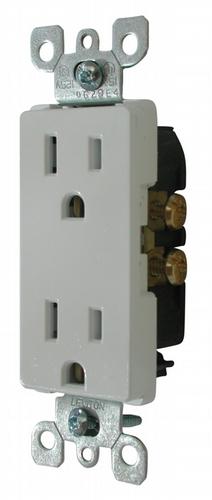 Decor Receptacle - White SSCR-10