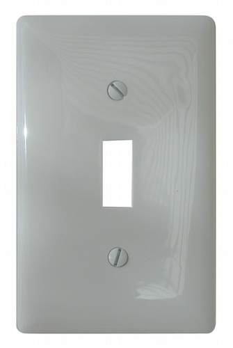 Standard Receptacle Cover - White
