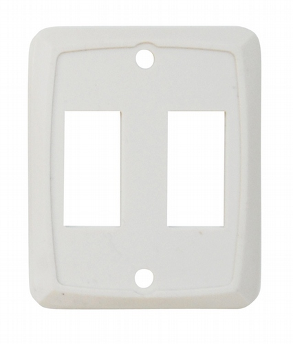 Double Face Plate - Ivory 3/bag