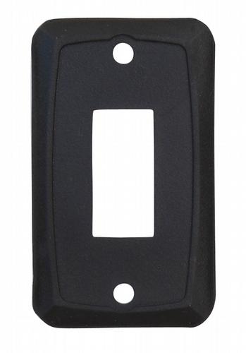 Single Face Plate - Black 3/bag