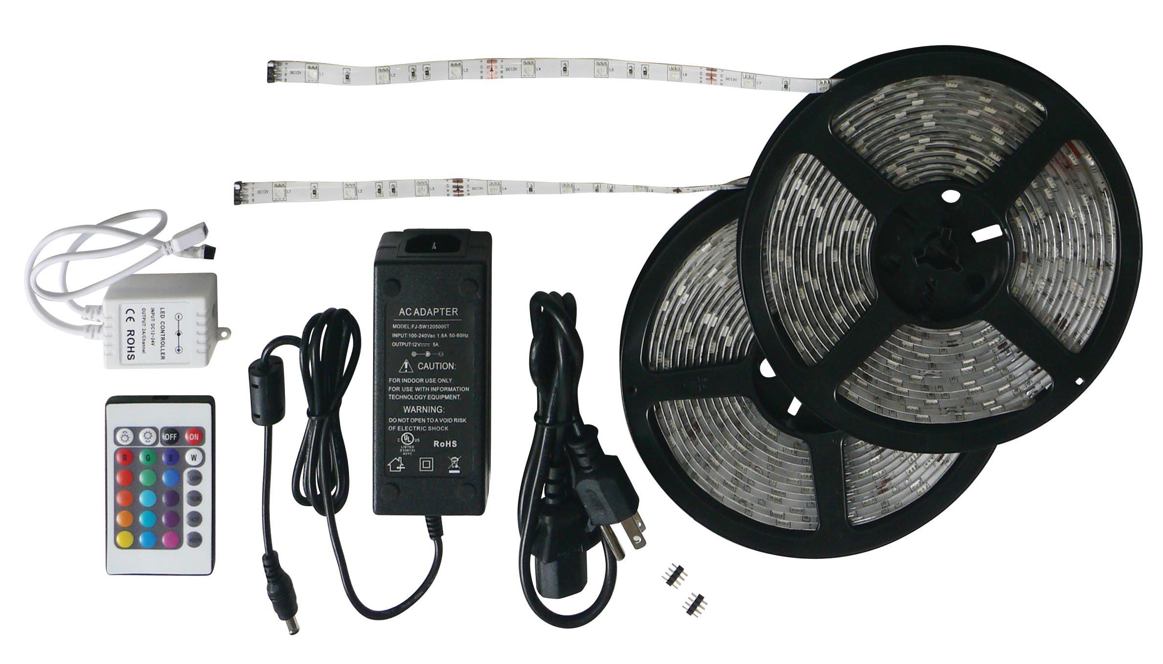 33 Foot RGB LED Strip Light Kit 52694