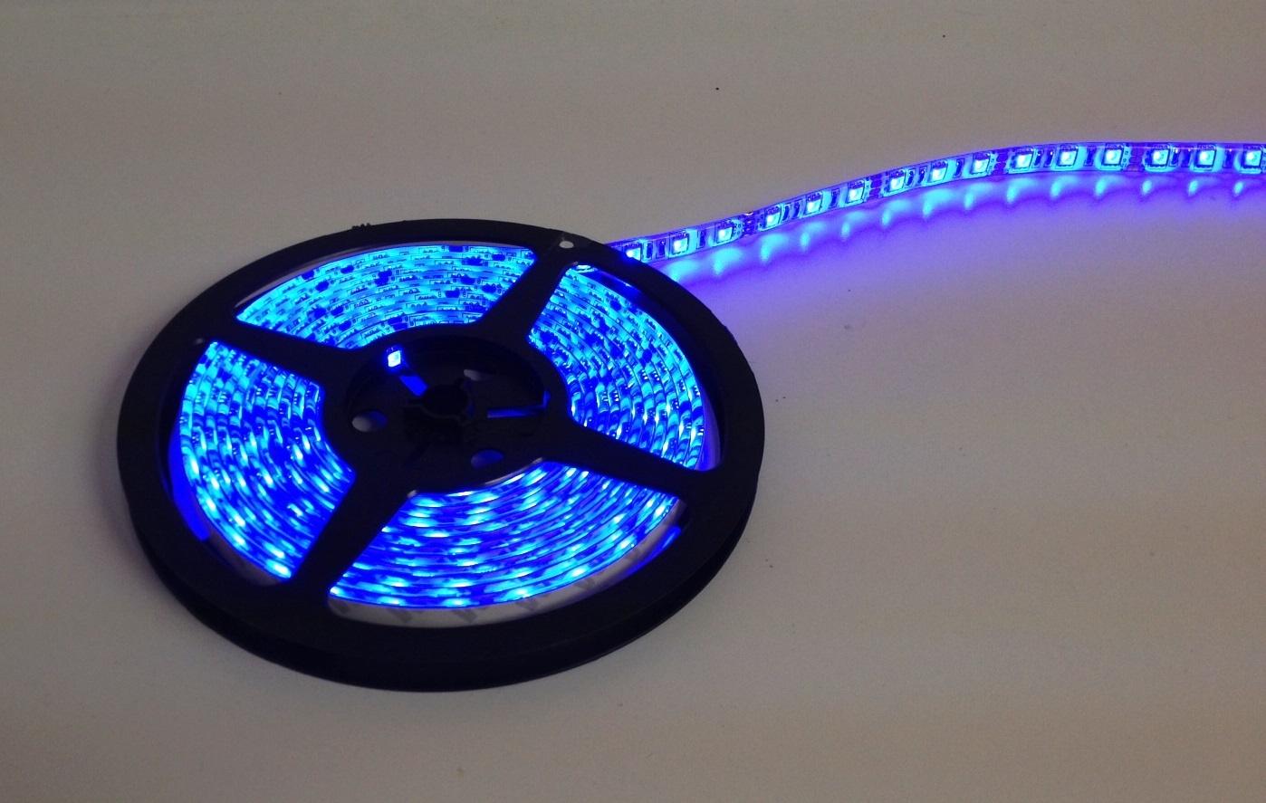 16 Foot BLUE LED Strip Light Only 52683
