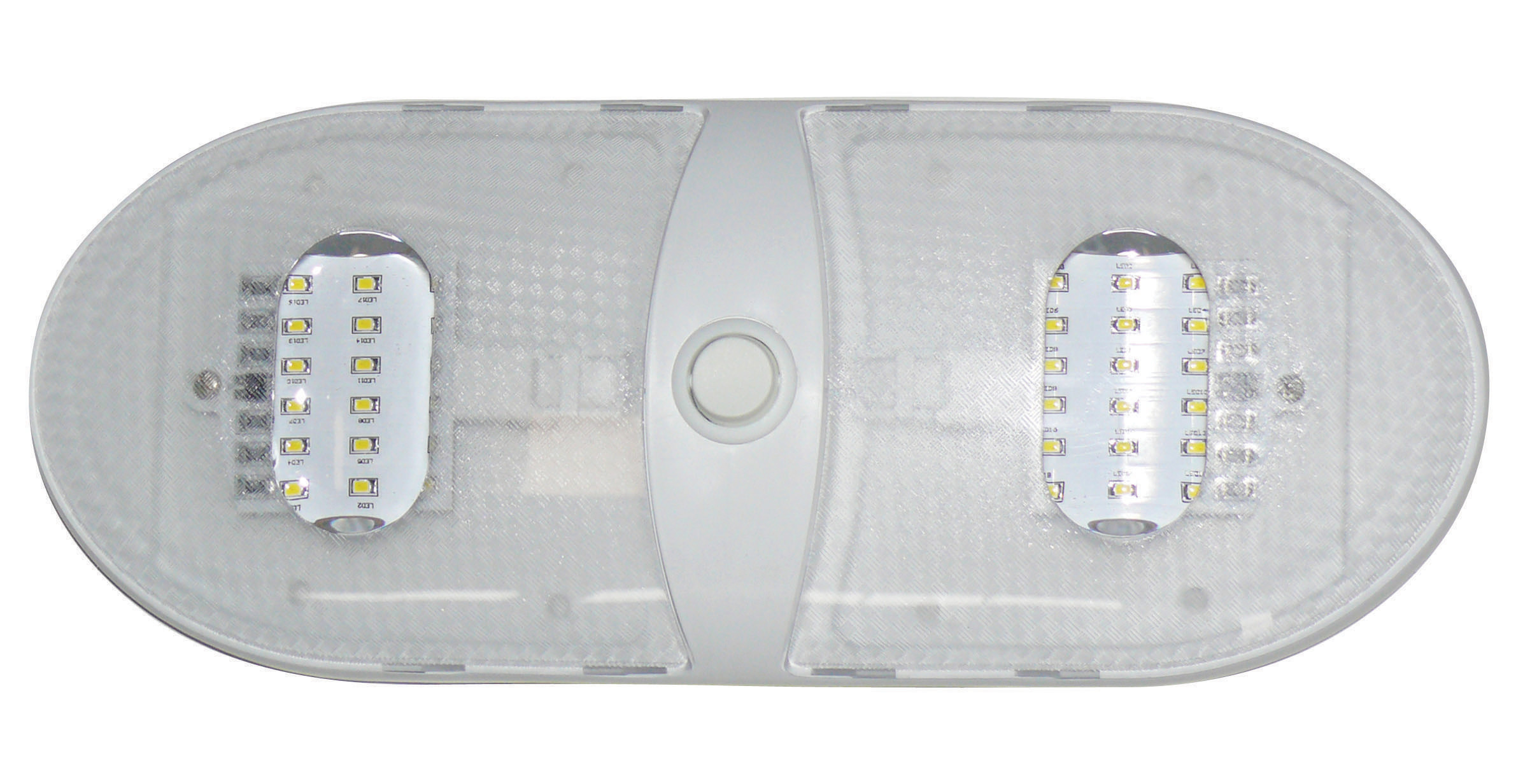 Slim Line Double LED Dome Light 65430