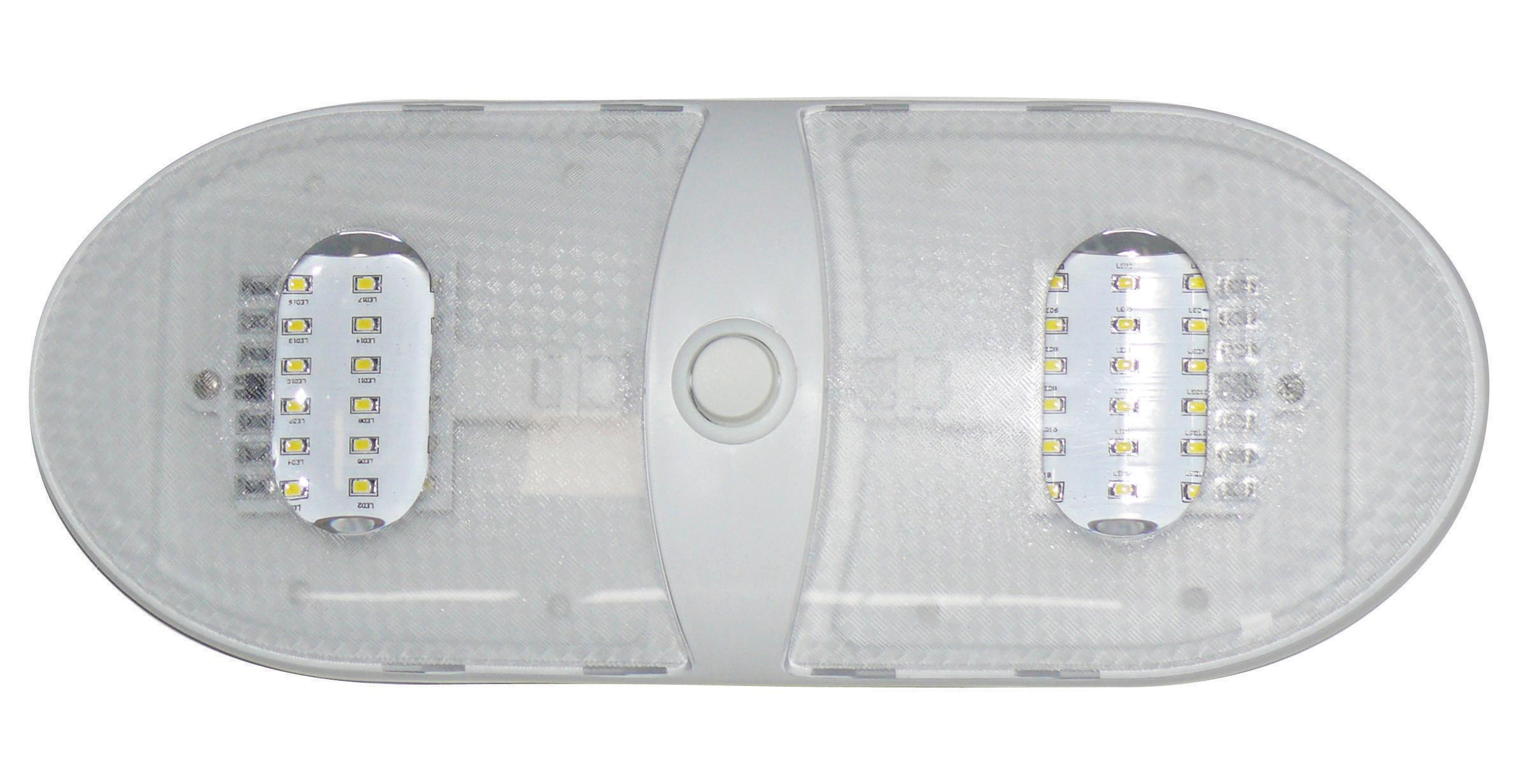 Slim Line Double LED Dome Light - Warm White 65430-ww