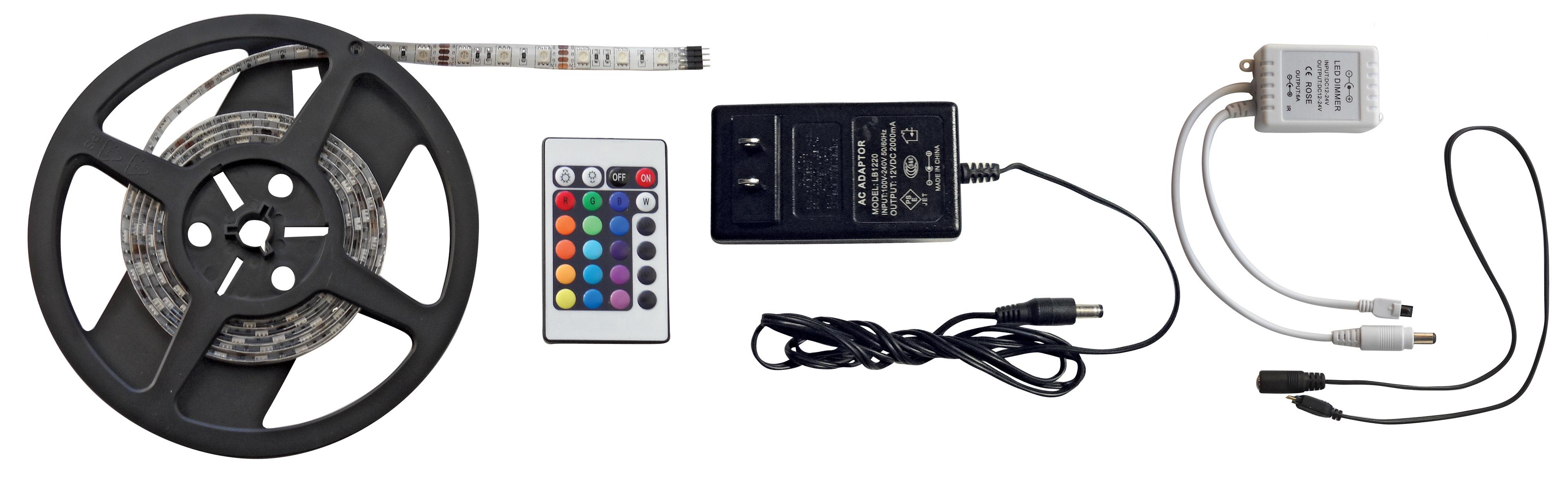 6 Foot RGB LED Strip Light Kit 52687