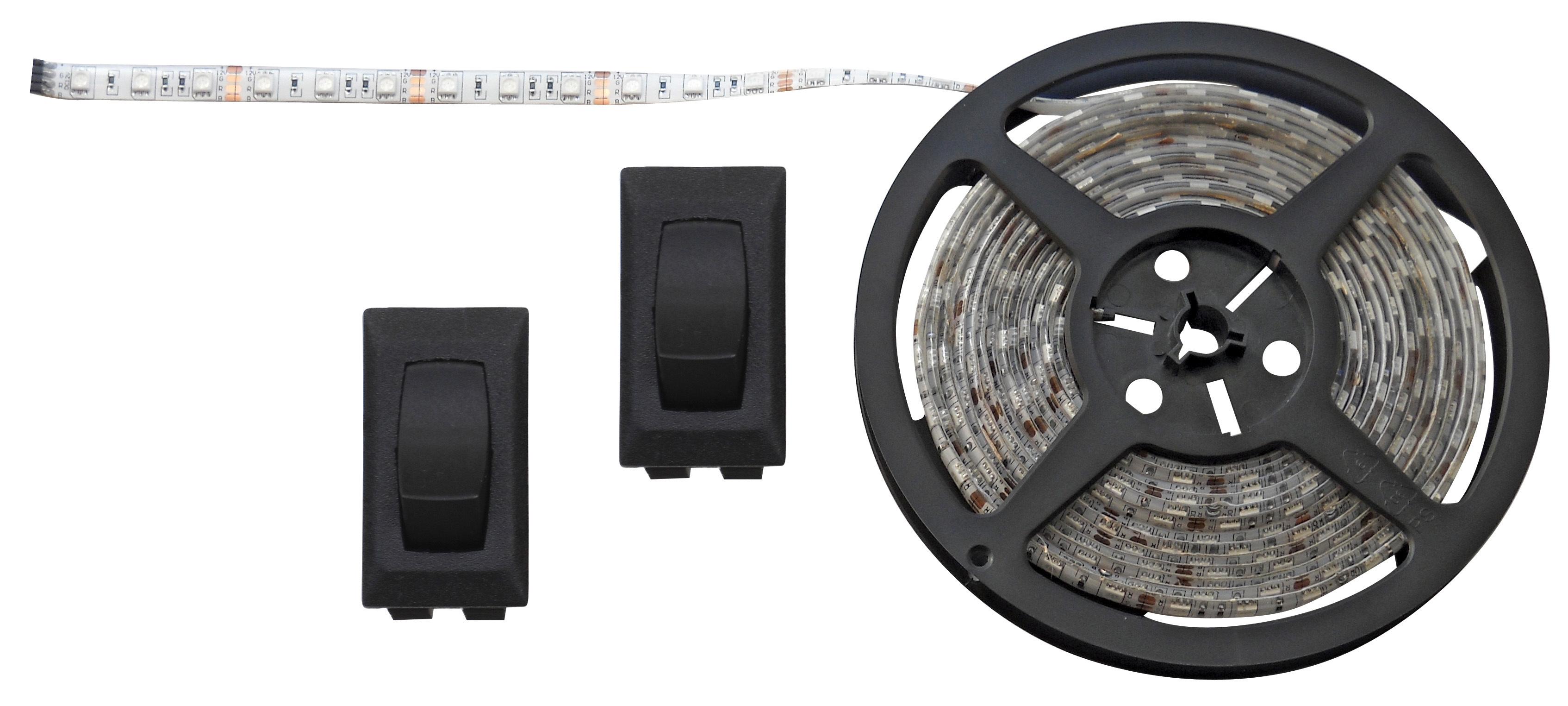 White 16 Foot LED Strip Light Kit 52689