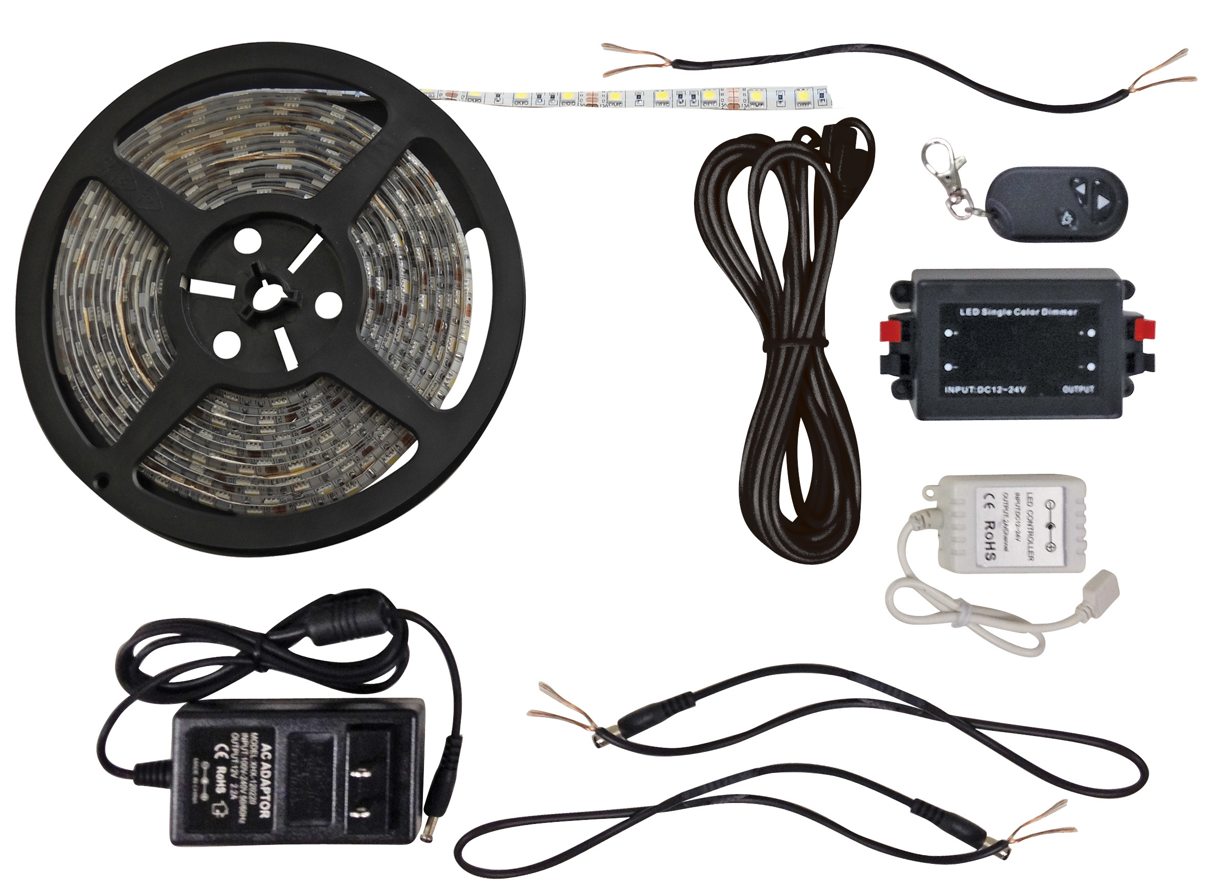 Bright White 16 Foot LED Strip Light Kit 52665