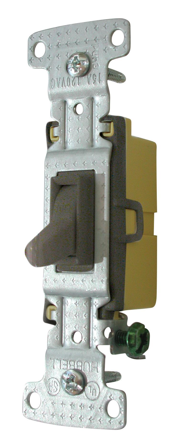 Standard Toggle Switch - Brown 1301-73B