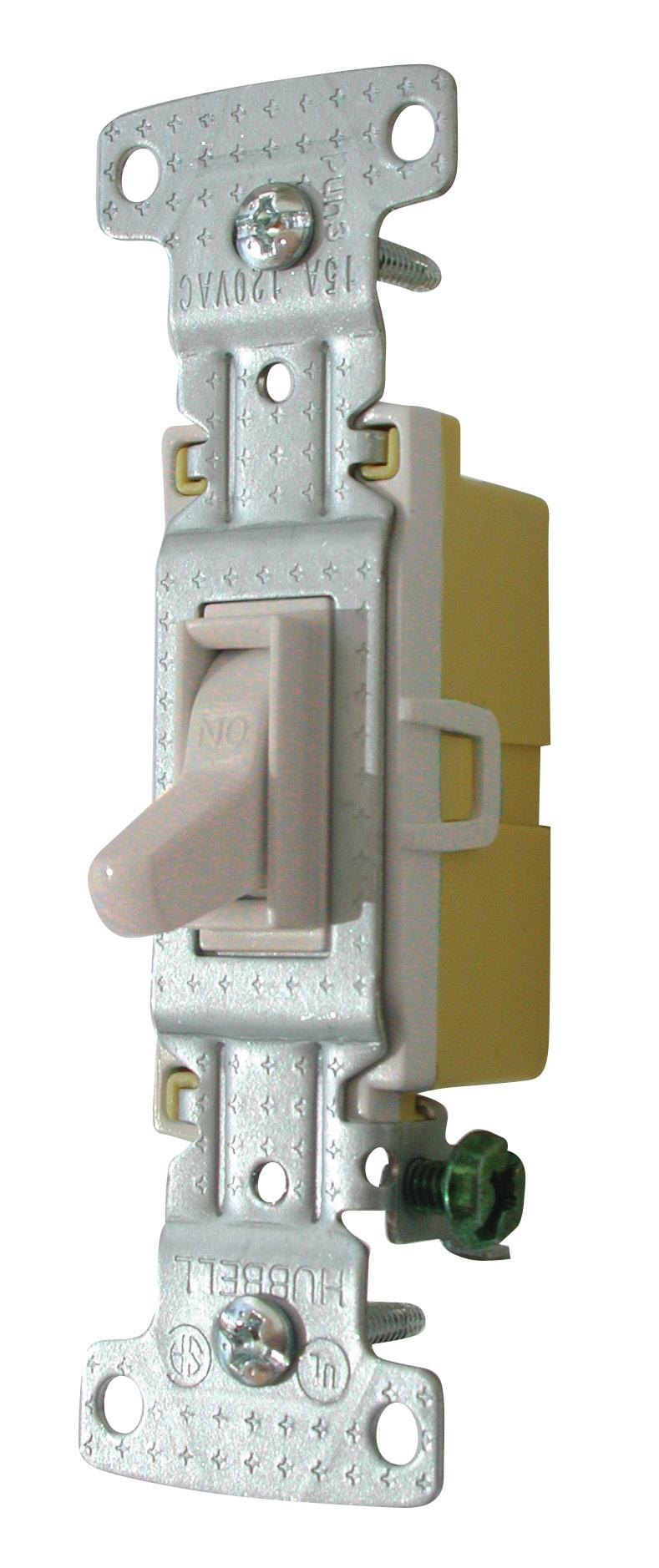 Standard Toggle Switch - Ivory 1301-73V