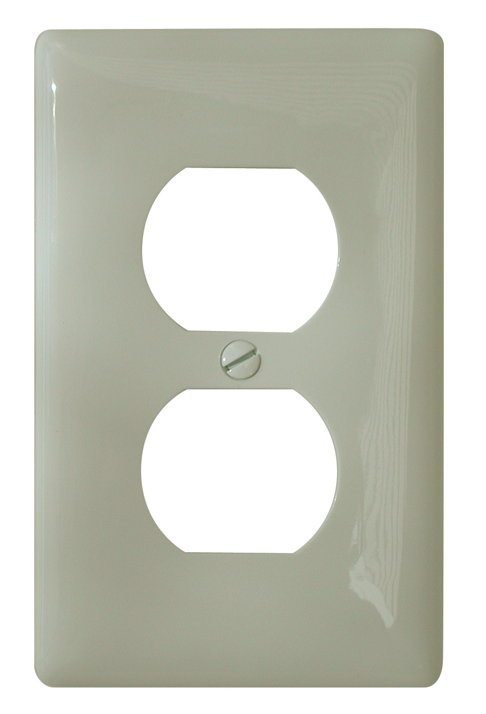 Standard Receptacle Cover - Ivory 4132V