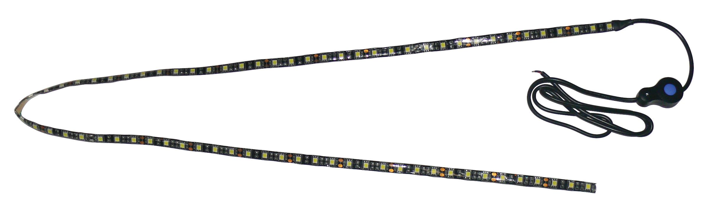Black Backed LED Utility Strip Light - 4 Foot 52761
