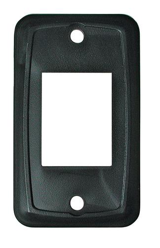 Switch Plate - Black 3/Bag