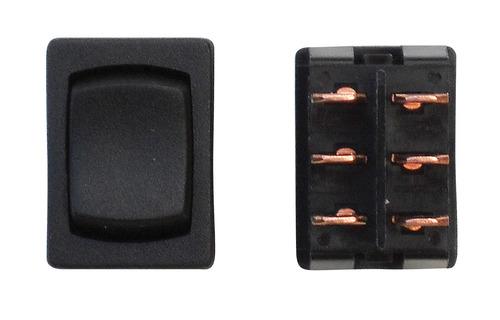 Mini On/Off/On DPDT - Black 1/Card