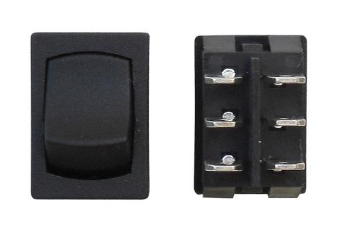 Mini On/On DPDT - Black 3/bag