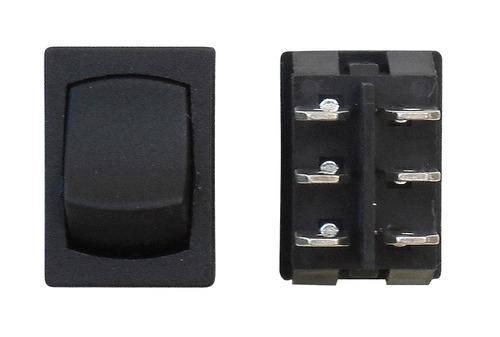 Mini On/Off DPST - Black 3/Bag