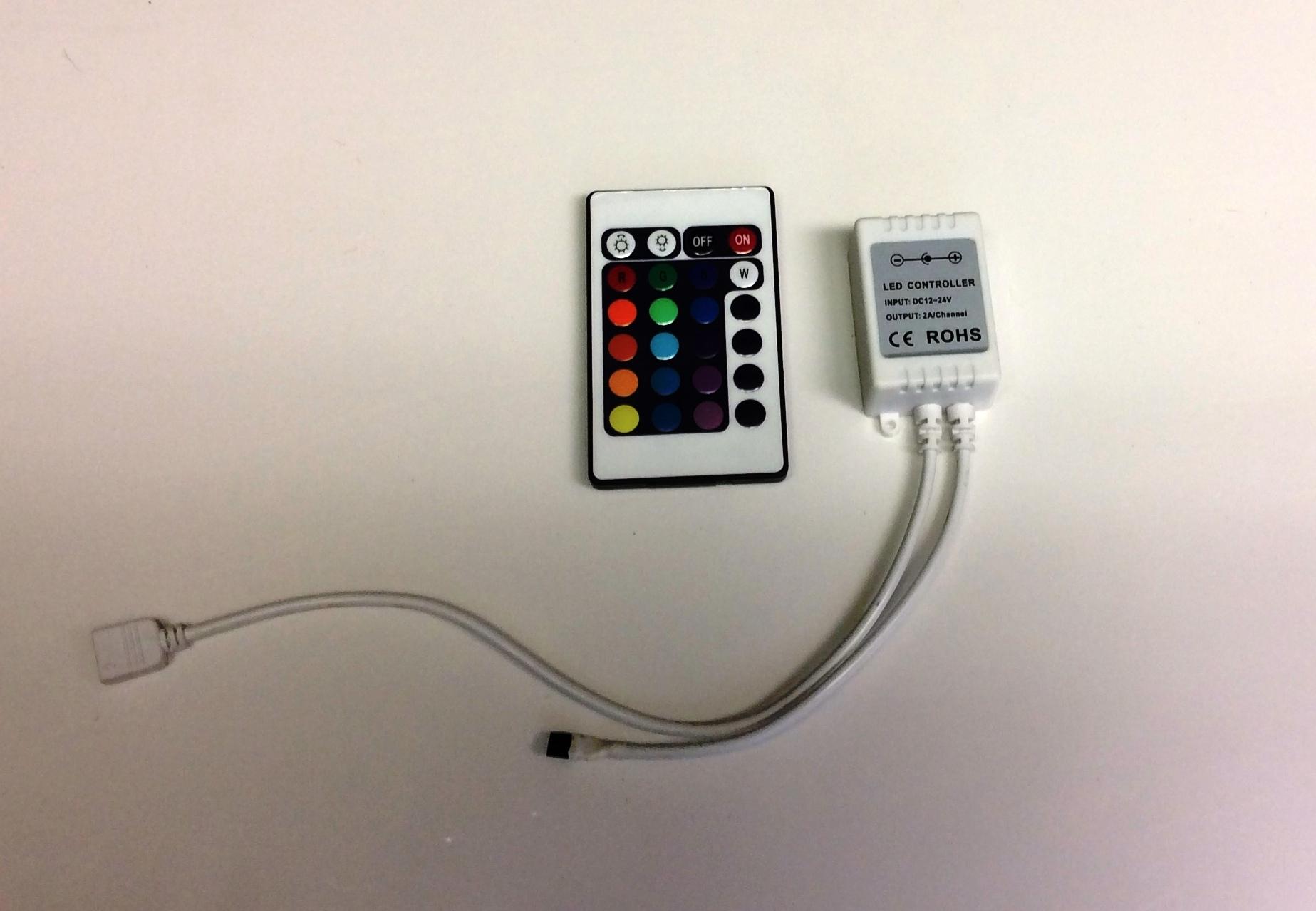 IR Remote and Receiver - Multicolor 52693