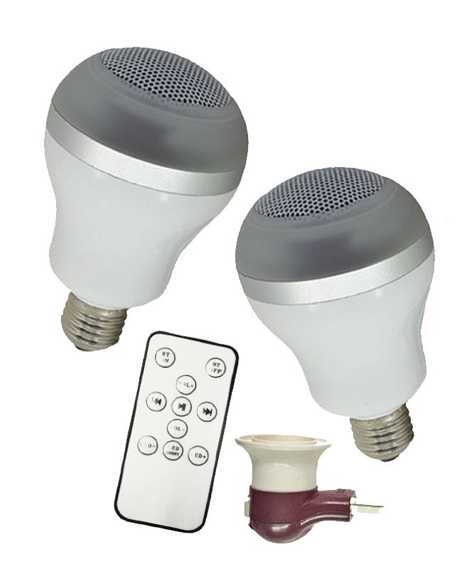 Stereo LED Bluetooth Speaker Bulbs