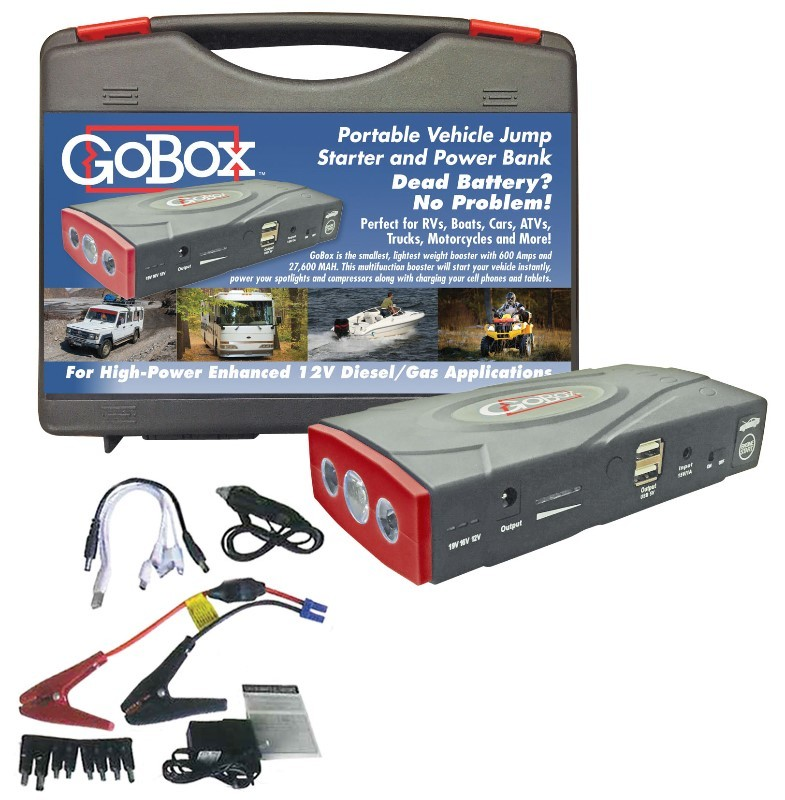 GoBox - Portable Vehicle Jump Starter and Power Bank H11500
