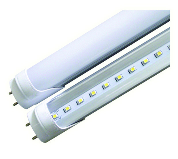8 Foot T8 LED Tube, Direct Wire Bi-Pin