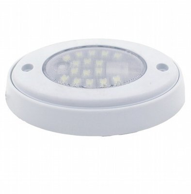16 Diode 5 Inch Oval LED Click Light