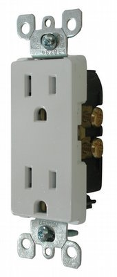 Decor Receptacle - White