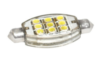 LED Bulb - 9 Diode SV8.5 Festoon
