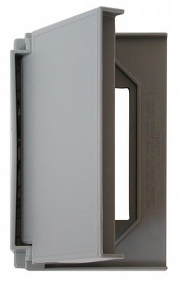 Decor Receptacle Cover - Grey