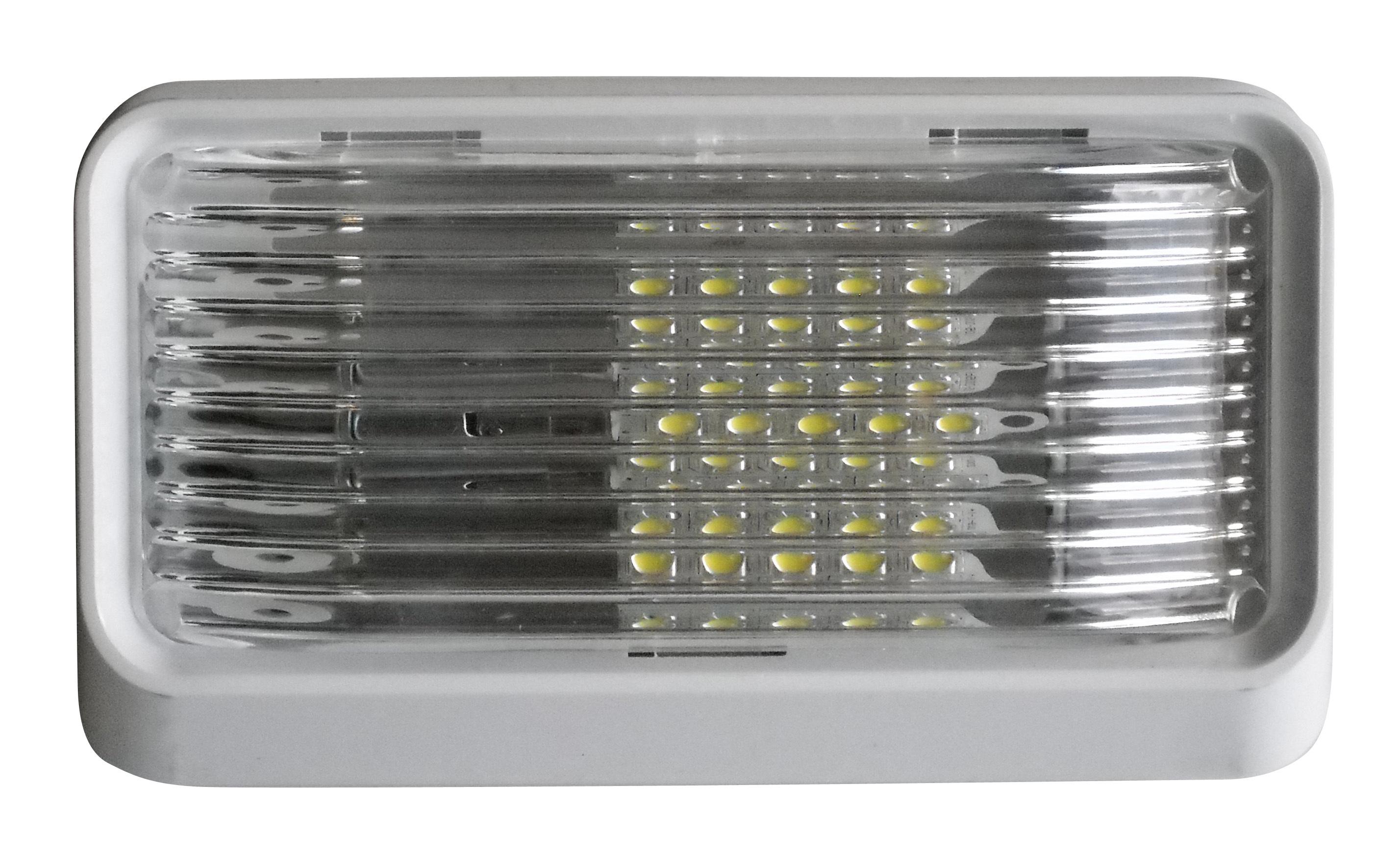 LED Porch Light Clear Lens 52724