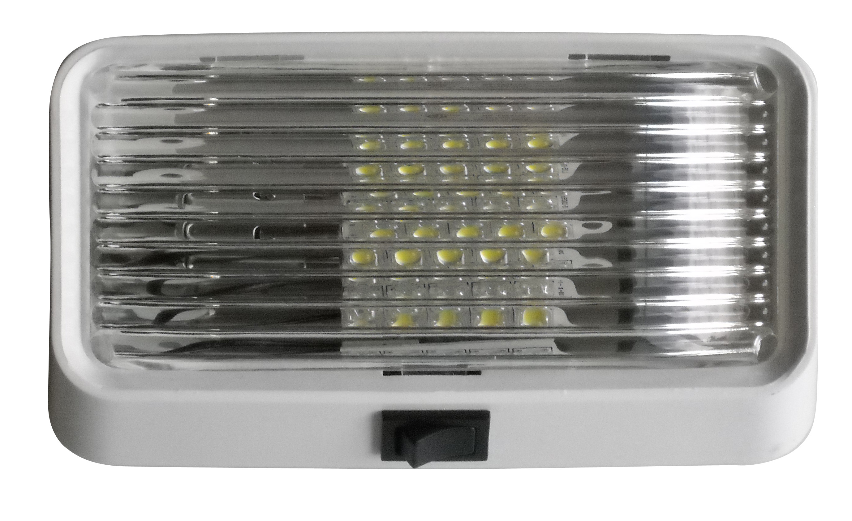 LED Porch Light with On/Off Switch - Clear 52723