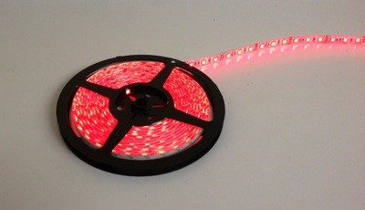 16 Foot RED LED Strip Light Only