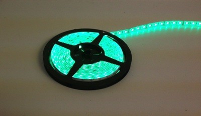 16 Foot GREEN LED Strip Light Only