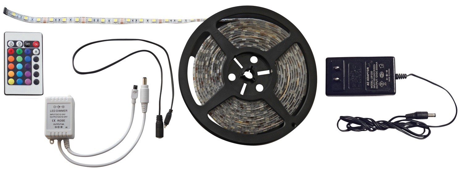 16 Foot RGB LED Strip Light Kit