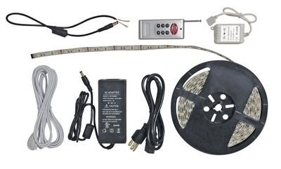 16 Foot RGB LED Light Strip with RF Remote